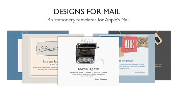 Designs for Mail « Mac App Deals & Mac App Store Discounts — Two ...