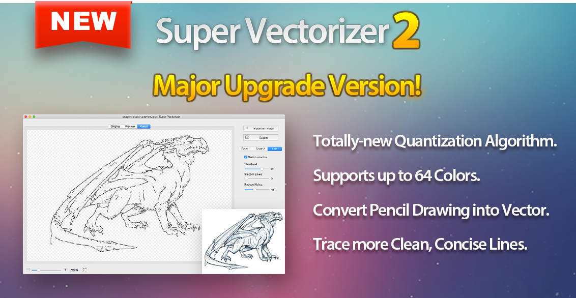 Line Drawing Algorithm Pdf : Super vectorizer vector trace tool « mac app deals