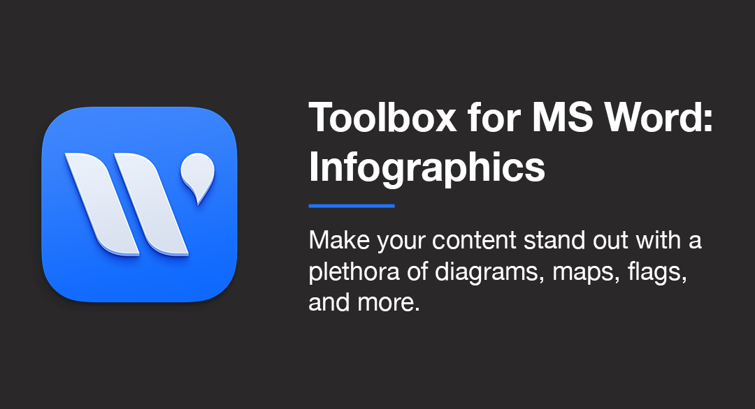 Toolbox for MS Word: Infographics Category