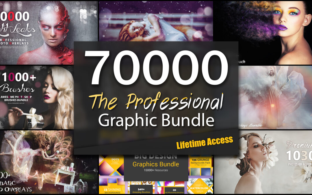 The Professional 70,000+ Graphic Asset Bundle