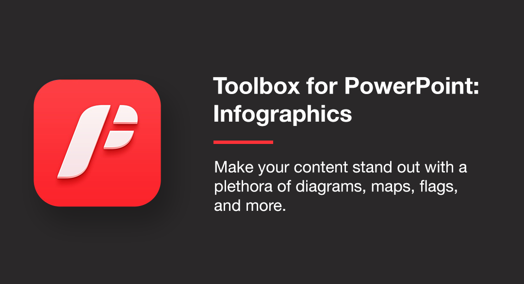 Toolbox for PowerPoint: Infographics
