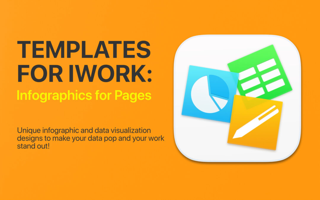 Templates for iWork – DesiGN: Infographics for Pages
