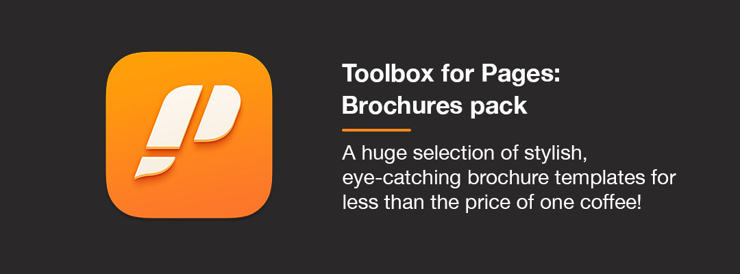 Toolbox for Pages: Brochures