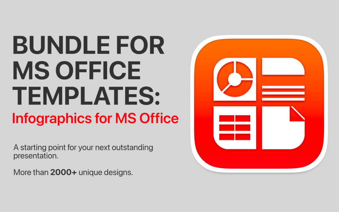 Bundle for MS Office Templates: Infographics fo MS Office